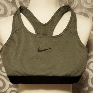 Nike dri fit racer back sports bra